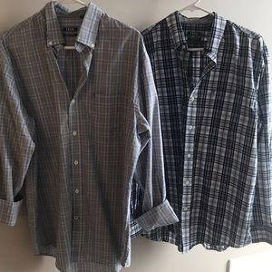 IZOD men's dress shirt bundle size Medium